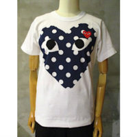 【PLAY COMME des GARCONS】PLAY POLKA DOT T-SHIRT