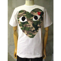 【PLAY COMME des GARCONS】PLAY CAMOUFLAGE T-SHIRT