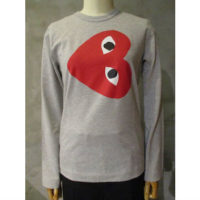 sold out【PLAY COMME des GARCONS】PLAY LONG SLEEVE T-SHIRT