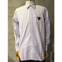 【PLAY COMME des GARCONS】PLAY STRIPED SHIRT