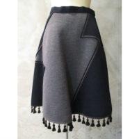 SALE【kolor】ウールダンボールスカート