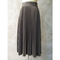 【HYKE】PLEATED SKIRT