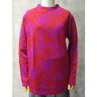 SALE【tricot COMME des GARCONS】ウールレーヨンジャガード花柄Tシャツ