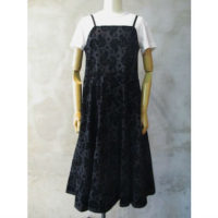 SALE【tricot COMME des GARCONS】綿ブロードフロッキープリントワンピース