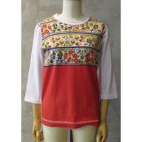 SALE【tricot COMME des GARCONS】綿天竺プリントTシャツ
