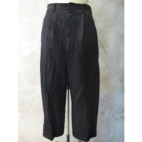 SALE【COMME des GARCONS HOMME】エステルツイルストライプ製品染パンツ