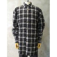 SALE【Vivienne Westwood MAN】リンクルチェックビックシャツ
