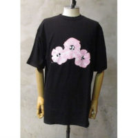 SALE【LIAM HODGES】PINK SAD FLOWERS TEE