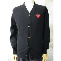sold out【PLAY COMME des GARCONS】PLAY RED HEART CARDIGAN