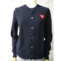 【PLAY COMME des GARCONS】PLAY RED HEART CARDIGAN