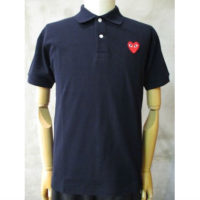 sold out【PLAY COMME des GARCONS】PLAY RED HEART POLO SHIRT
