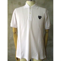 sold out【PLAY COMME des GARCONS】PLAY BLACK HEART POLO SHIRT