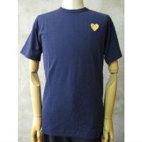 【PLAY COMME des GARCONS】PLAY GOLD HEART T-SHIRT