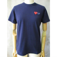 sold out【PLAY COMME des GARCONS】PLAY DOUBLE HEART T-SHIRT