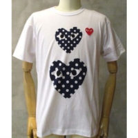 sold out【PLAY COMME des GARCONS】PLAY RED HEART POLKA DOT T-SHIRT
