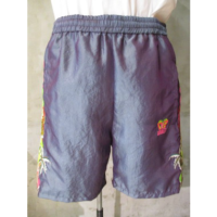 sold out【doublet】CHAOOS EMBROIDERY CHAMBRAY SHORT PANTS