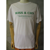 SALE【WALK OF SHAME】KISS&CRY T-SHIRT