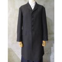 【tricot COMME des GARCONS】レーヨン綿ギャバ先染コート