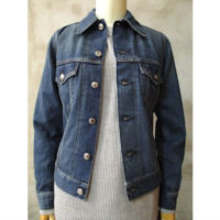 【HYKE】DENIM JACKET TYPE3/TIGHT FIT