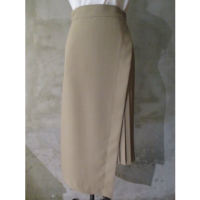 SALE【HYKE】TOROPICAL WRAP PLEATED SKIRT