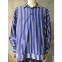 【White Mountaineering】STRIPE PULLOVER SHIRT