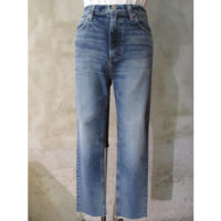 【HYKE】TAPAERED JEANS