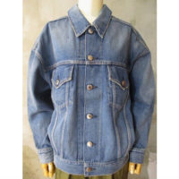 【HYKE】DENIM JACKET TYPE3/BIG FIT