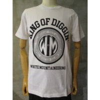 【White Mountaineering】PRINTED T-SHIRT 'KING OF DIGGIN'