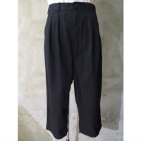 sold out【COMME des GARCONS HOMME】綿麻ストレッチツイルパンツ