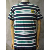 【MAISON KITSUNE】TEE-SHIRT STRIPES