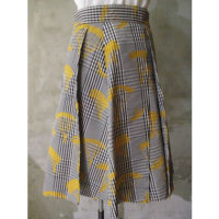 【HENRIK VIBSKOV】DICTIONARY SKIRT