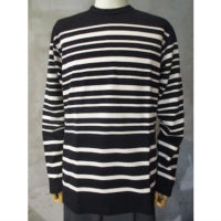 SALE【COMME des GARCONS HOMME】綿度詰天竺パネルボーダーTシャツ