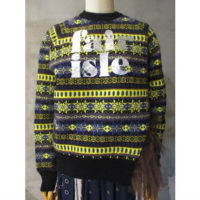 【kolor】フェアアイルセーター