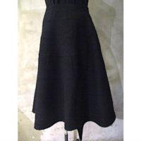 【tricot COMME des GARCONS】ウールエステルサージニードル加工スカート