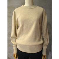 【HYKE】C/C CREW NECK SWEATER