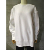 【HYKE】LONG-SLV SWEATSHIRT(BIG)