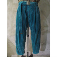 sold out【doublet】CORDUROY WIDE TAPERED TROUSERS