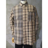 【White Mountaineering】CHECK BIG SHIRT