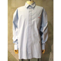 SALE【WALK OF SHAME】petite pain blue shirt