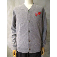sold out【PLAY COMME des GARCONS】PLAY CARDIGAN