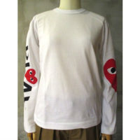 sold out【PLAY COMME des GARCONS】PLAY LADIES T-SHIRT