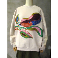 sold out【HENRIK VIBSKOV】BLOSSOM FEASTS SWEAT