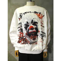 "【doublet】""HORROR"" EMBROIDERY SWEAT SHIRT"