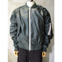 【WALK OF SHAME】green bomber jacket
