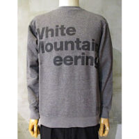 【White Mountaineering】LOGO PRINTED SWEATSHIRT 'White Mountaineering'
