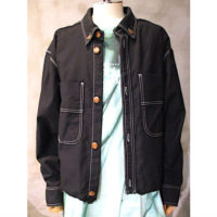 【doublet】HEAVY TWILL CUT-OFF JACKET