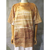 sold out【doublet】 FACEOUT TOURIST T-SHIRT