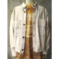 sold out【doublet】HEAVY TWILL CUT-OFF JACKET