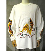 【doublet】BITING EMBROIDERY THHERMAL SHIRT