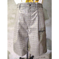 【doublet】HOLOGRAM COATING SHORT PANTS